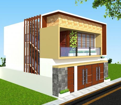 Duplex modern house 1 1